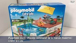 Playmobil 5575 city life piscine avec terrasse comparer avec - Piscine moderne playmobil ...