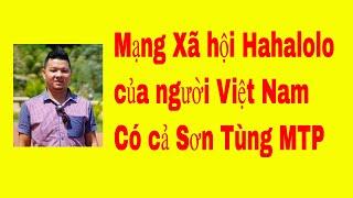 Mạng xã hội Hahalolo của người Việt - Có cả Sơn Tùng MTP