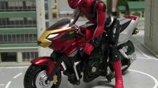 đồ chơi siêu nhân Go Buster  Power Rangers Go Buster Toys 파워레인저 고버스터즈 오토바이 변신 장난감