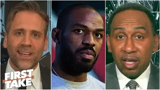 Stephen A. and Max react to Jon Jones' latest arrest   First Take
