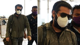 Hero Ram Pothineni spotted at Hyd airport..