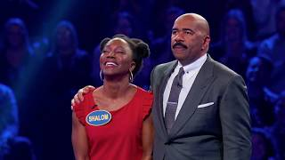 Perfect 200 on Fast Money – Celebrity Family Feud