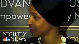 Ilhan Omar Says More Death Threats Have Come Since Trump's Tweet   NBC Nightly News