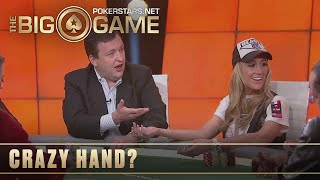 The Big Game S1 ♠️ W5, E1 ♠️ Tony G vs Vanessa Rousso ♠️ PokerStars