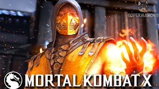 """THE MOST ANNOYING SCORPION OF ALL TIME? - Mortal Kombat X: """"Scorpion"""" Gameplay"""