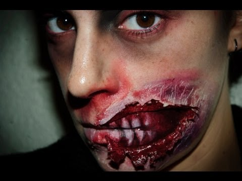 Halloween Make up 5: Zombie FX (special effects)  | Silvia Quiros
