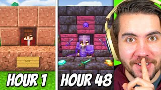 I Spent 48 Hours Upgrading A NOOBS Minecraft Shop