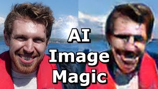 Using AI to make pictures 'better'