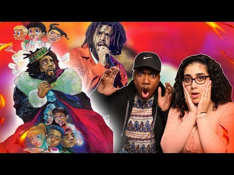 J. Cole - 1985 (Intro to The Fall Off) KOD FULL ALBUM + REVIEW | REACTION VIDEO 🔥 😱 LIL PUMP DISS