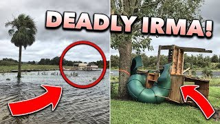 AFTERMATH of DEADLY Hurricane Irma in Florida! (RAW Footage 9/11/17)