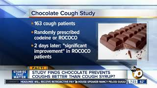 Chocolate more effective than cough syrup?