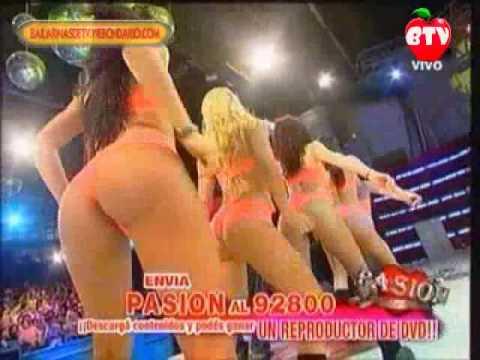 Las Bailarinas de Pasion revoleando las colitas 4