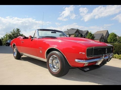1967 chevy camaro convertible classic muscle car for sale in mi vanguard motor sales youtube. Black Bedroom Furniture Sets. Home Design Ideas