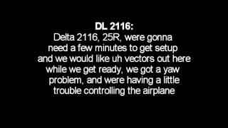 Live ATC Delta Boeing 757 emergency landing @ LAX