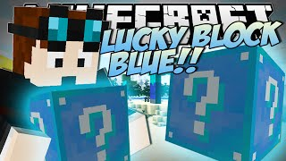 Minecraft | LUCKY BLOCK BLUE (Brand New, Crazy Blocks!) | Mod Showcase