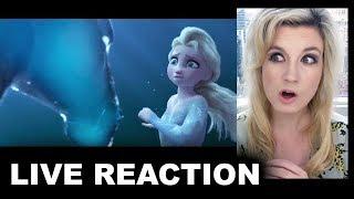 Frozen 2 Trailer REACTION