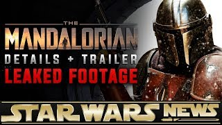 The Mandalorian:  LEAKED Footage/Trailer + First Details | Star Wars News