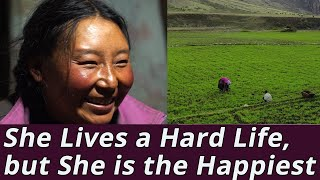 Himalayan Hard-Living Woman: She Lives Hard but She is Very Happy (Full Documentary)