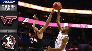 Virginia Tech vs. Florida State Condensed Game | 2018-19 ACC Basketball