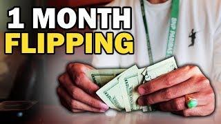 1 Month Flipping Challenge - 8x Money Return