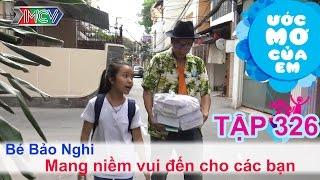 Ước mơ của bé Bảo Nghi - mang niềm vui cho các bạn 07/06/2015