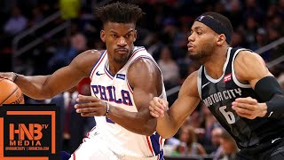 Philadelphia Sixers vs Detroit Pistons Full Game Highlights   12.07.2018, NBA Season