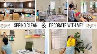 SPRING CLEANING MOTIVATION!! // CLEAN WITH ME 2019 // Jessica Tull cleaning