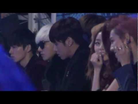 20121229 INFINITE KARA TVXQ @ SBS Gayo Daejun