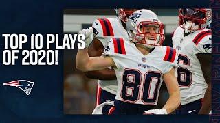 Top 10 Patriots Plays of 2020!
