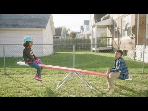 """""""Teeter Totter"""" A public service announcement reminding all kids to get active. For more information, visit https://www.OrthoInfo.org/ActiveFamilies."""