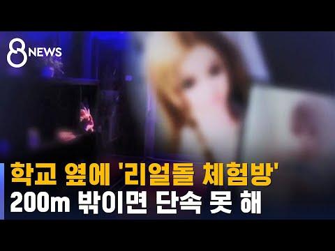 학교 옆에 '리얼돌 체험방'…200m 밖이면 단속 못 해 / SBS
