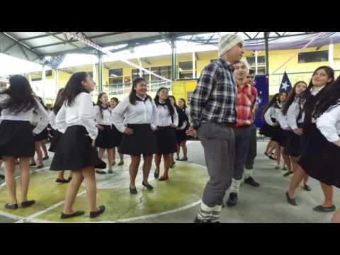 La Trastasera  Tercer Año D Liceo Tomás Marin de Poveda Rengo 2016