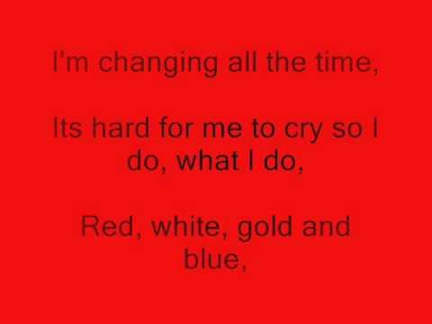 Colours of the rainbow lyrics by Alesha Dixon