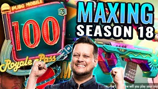 SEASON 18 MAXED Royale Pass - Is the 3rd Anniversary Epic?!