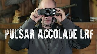 Pulsar Accolade LRF - обзор тепловизионного бинокля с лазерным дальномером