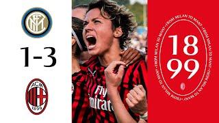 Highlights | Inter 1-3 AC Milan | Matchday 3 Serie A Women 2019/20