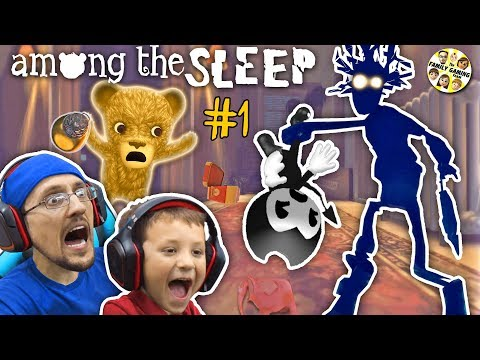 AMONG THE SLEEP!  My Teddy Bear is ALIVE! FGTEEV Tired Chase & Duddy