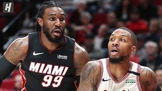 Miami Heat vs Portland Trail Blazers - Full Game Highlights   February 9, 2020   2019-20 NBA Season