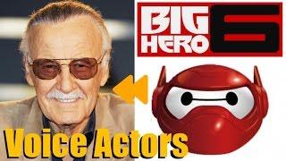 """Big Hero 6"" Voice Actors and Characters"