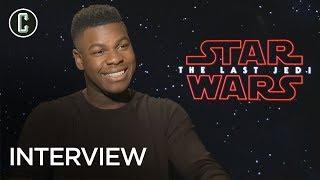 John Boyega on Star Wars: The Last Jedi & When He's Coming on Collider Jedi Council