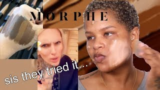 morphe released a foundation.. and everyone HATES it
