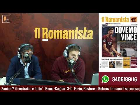 VIDEO - Roma-Cagliari, Torri: