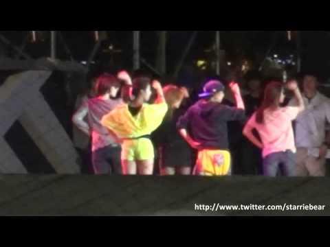 [Fancam] 121122 SMTOWN SG rehearsal - f(x) Jet