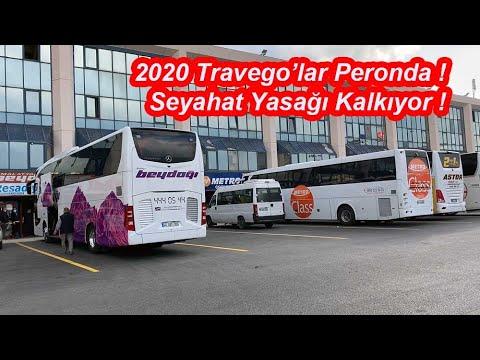 2020 Travego'lar Peronda | Seyahat Yasağı Kalkıyor | Peronlar Dolu