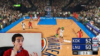 DIAMOND ISAIAH THOMAS HALF COURT GAME WINNING SHOT AT THE BUZZER!! NBA 2K17