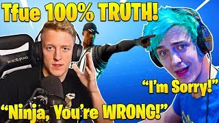 Tfue Responds To NINJA Calling Him a LIAR and SHOWS PROOF Epic BETRAYED HIM...
