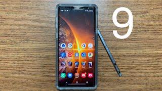 Samsung Galaxy Note 9 | TOP 9 Things I like