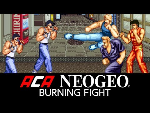 ACA NEOGEO BURNING FIGHT Video Screenshot 1
