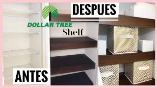 Como ORGANIZAR el closet de TOALLAS Y SÁBANAS | REPISAS FLOTANTES | Linen Closet Organization