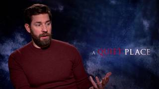 'A Quiet Place' director John Krasinski on working with Emily Blunt & classic horror